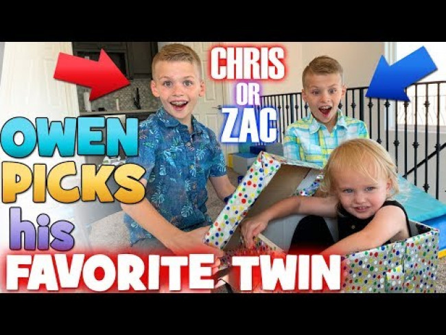 Owen Picks His Favorite Twin