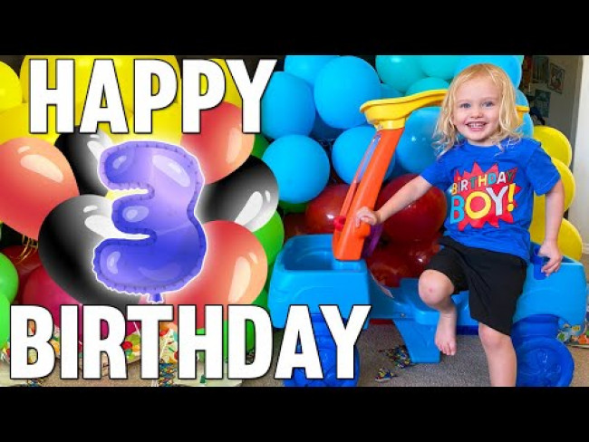 Owen Turns 3!!!