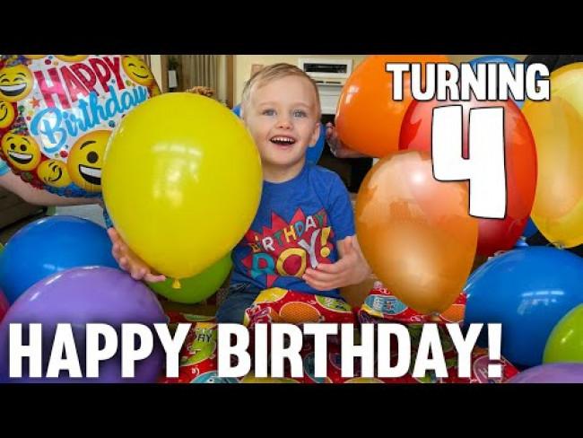 Owen's 4th BIRTHDAY!!!!!!!!!