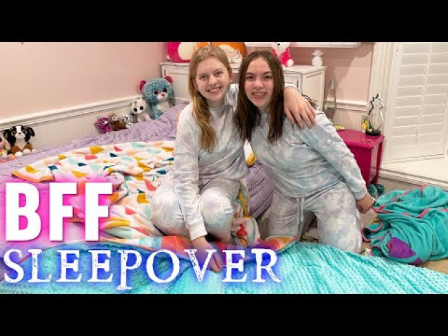 Perfect BFF Sleepover Vlog!