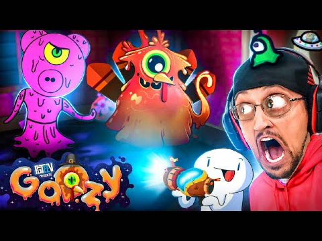 PIGGY GOOZY? Thanksgiving Gurkey Update + Lights Out Mode (FGTeeV Fan Art Gameplay #4)