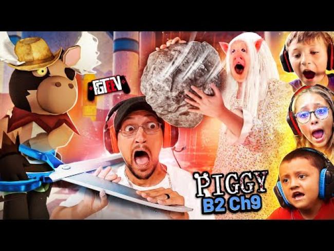 PIGGY's Rock, Paper, Scissors OH-Shoooot! (FGTeeV Fam vs. Book 2 Chapter 9: Docks || ROBLOX)