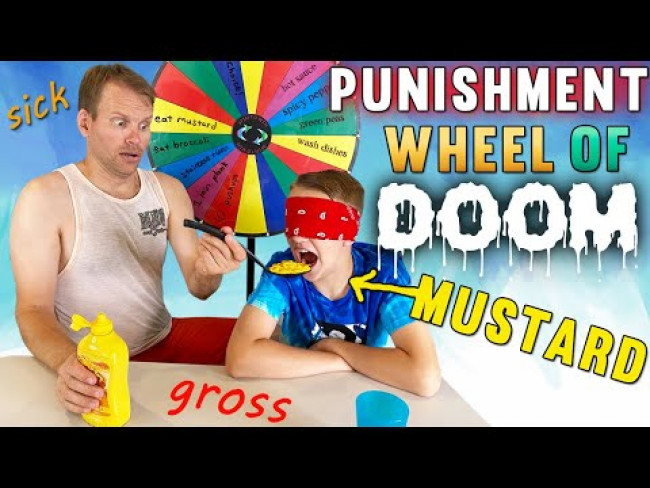 PUNISHMENT Wheel of DOOM Challenge!
