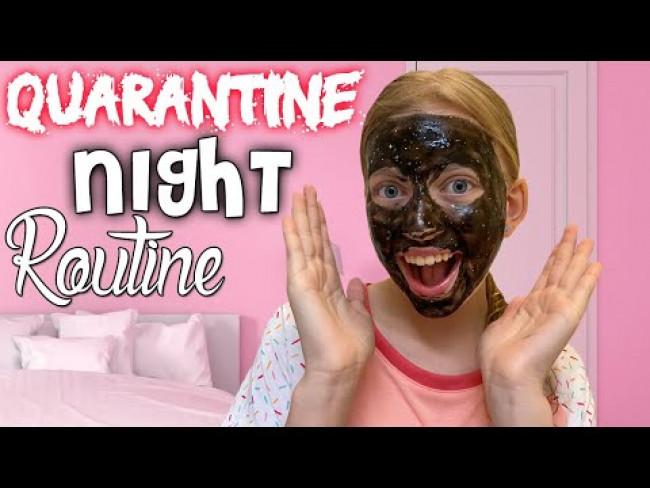 Quarantine Night Routine in Hawaii