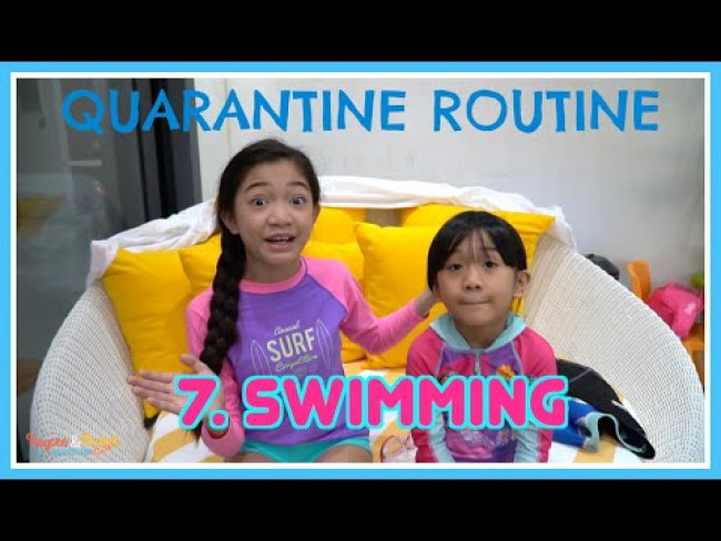 Quarantine Routine of Kaycee & Rachel