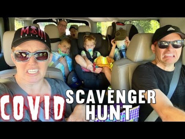 Quarantine Scavenger Hunt - Our Dog Falls Sick!