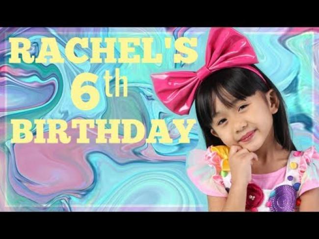 RACHEL'S 6TH BIRTHDAY UNICORN & CANDYLAND PARTY