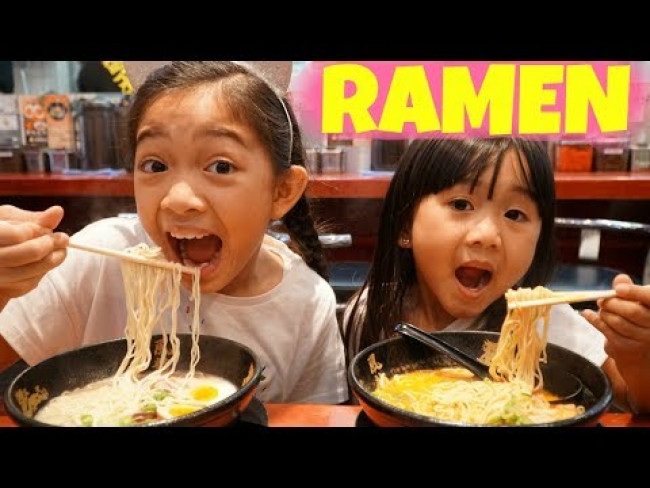 RAMEN HUNT in TOKYO with Kaycee and Rachel