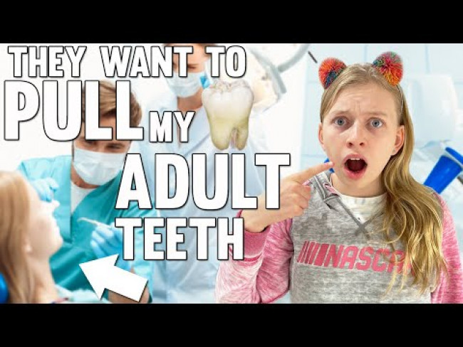 Removing ADULT TEETH!!??! || Mommy Monday