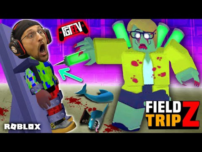 ROBLOX Field Trip Z!  FGTeeV vs. Bad Karen, My Zombie Teacher (School Gone Wrong)