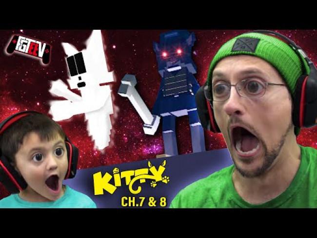 ROBLOX KITTY Chapter 7 & 8 - Scooby Doo & Gravity Falls (FGTeeV Duddz & Shawn Gameplay)