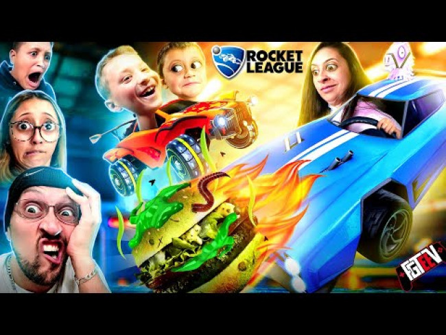 ROCKET LEAGUE 2020!  Lose & You Eat Loser Food! (FGTeeV Multiplayer Challenge)