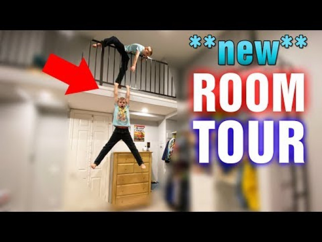 Room Makeover - We Added a CRAZY New Loft!!