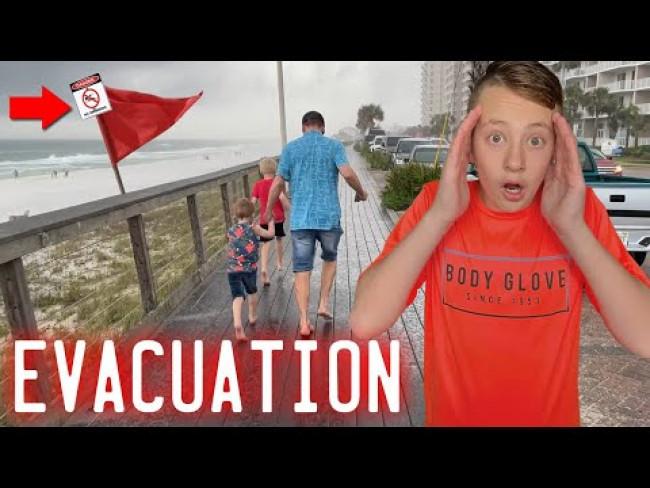 RUN!  We Had to Evacuate!