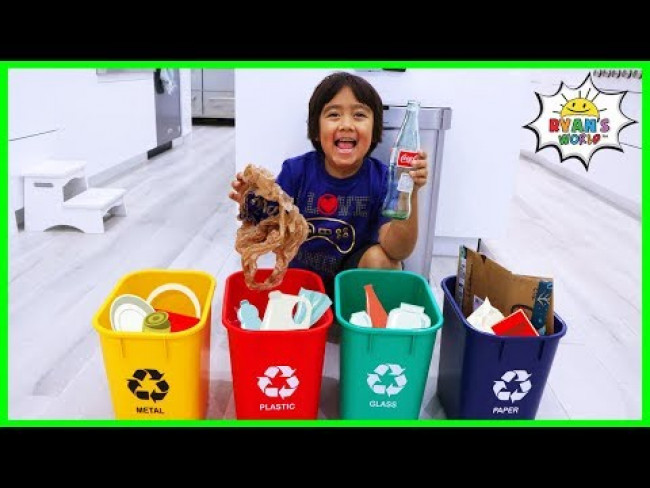 Ryan Recycling and learn ways to help save the planet!!!