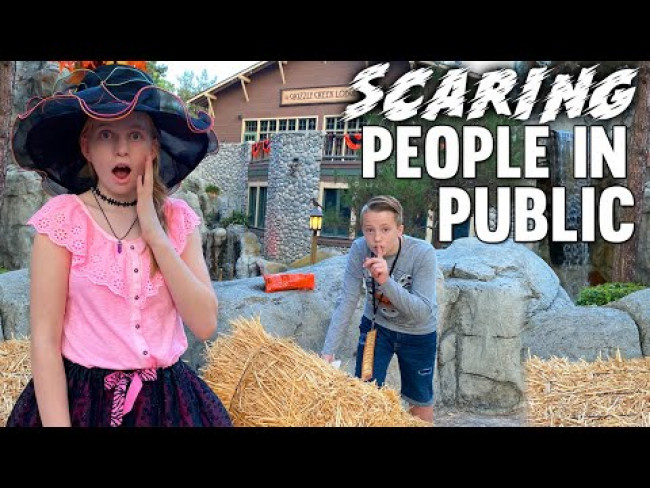 Scaring People in Public!!