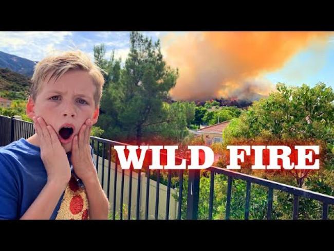 Scary Real Fire Evacuation!!!