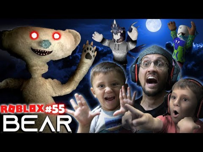 SCARY ROBLOX GAME!  BEAR CHASE!