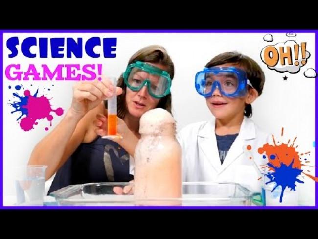 Science Experiments. Kids make a Vinegar Rainbow.