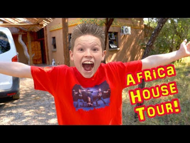 See our Jungle House in AFRICA!