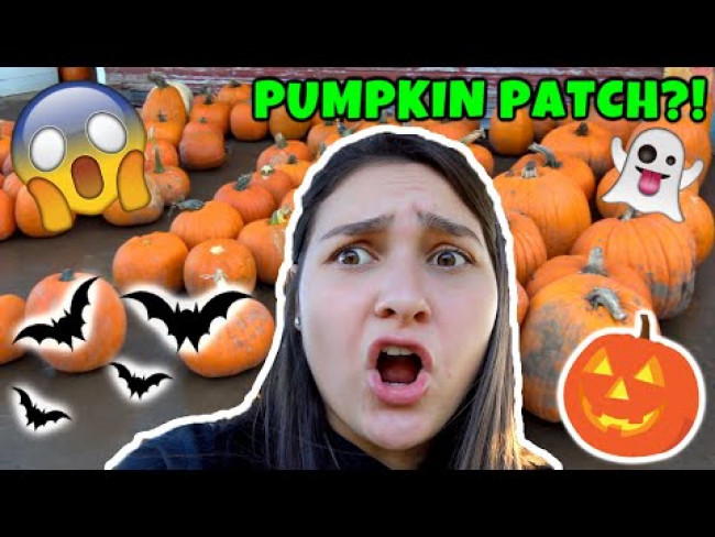 SISSY goes to the PUMPKIN PATCH! PUMPKIN CARVING with KAIA. The TOYTASTIC Sisters. HALLOWEEN SKIT!