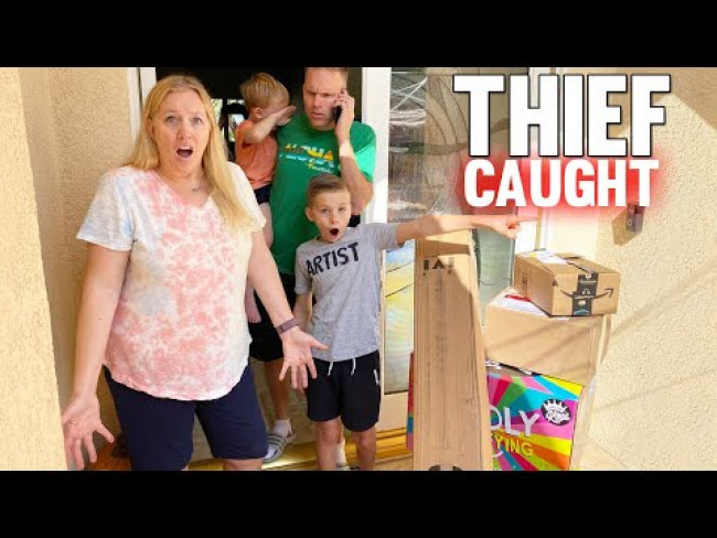 Someone Stole our Mail - Caught on Camera!