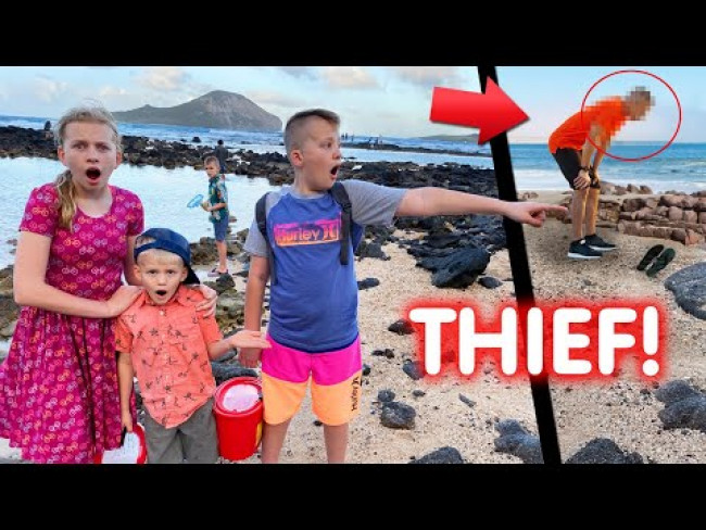Someone Stole Our Stuff! We Caught it in Our Video!