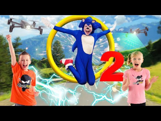 Sonic The Hedgehog 2! Ninja Kidz