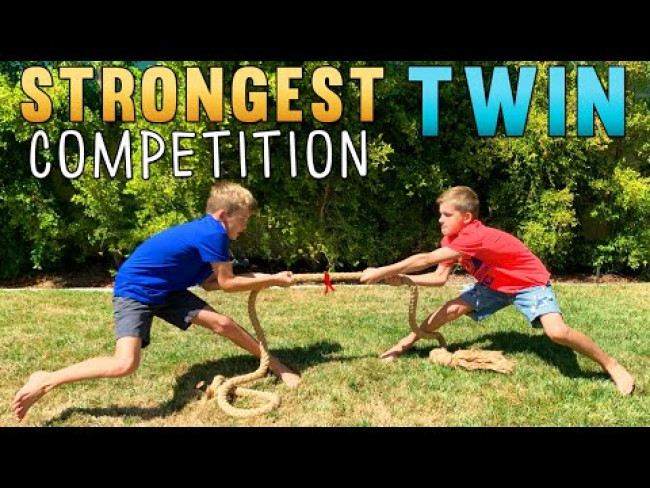 Strongest Twin Competition!!