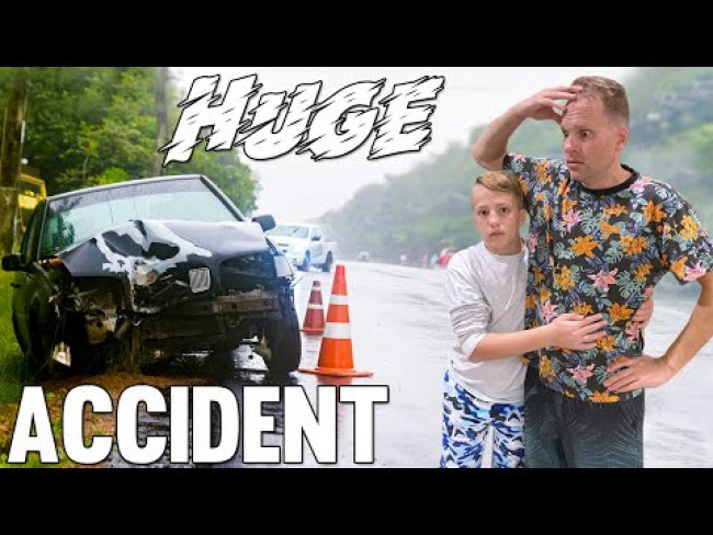Super Scary Car Accident! || Mommy Monday