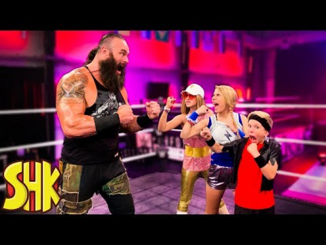 SuperHeroKids WWE Superstars in Training!