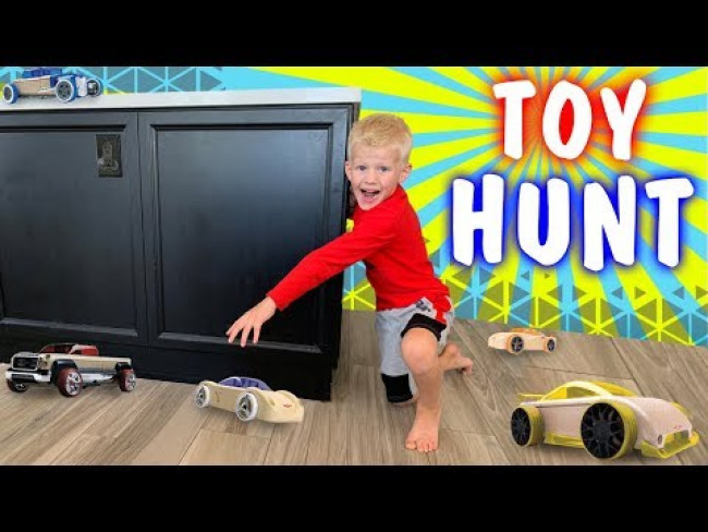 Surprise Toy Hunt for Michael!!
