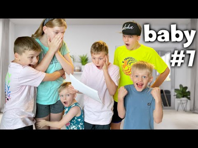 Surprising Our Kids!  We're Having a Baby!