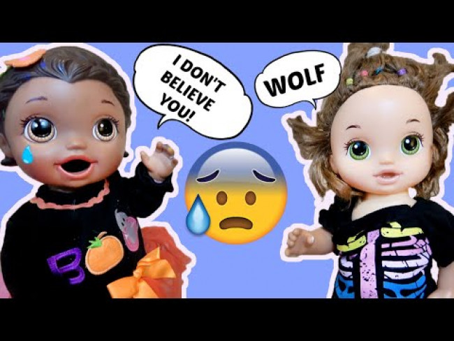 The BABY ALIVE who CRIED WOLF... OR DOG!!! The Lilly and Mommy Show! FUNNY KIDS SKIT!