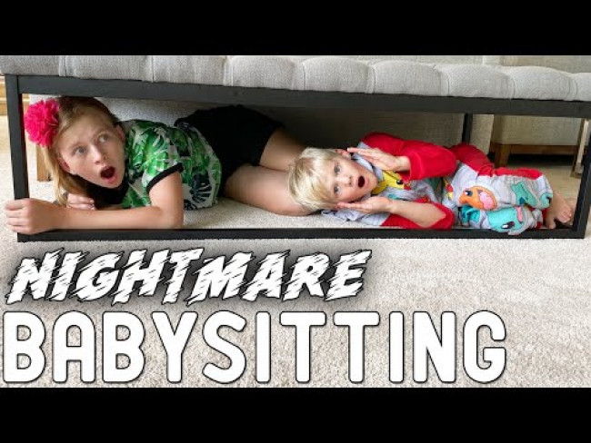 The Cursed Babysitter Skit Ep. 1