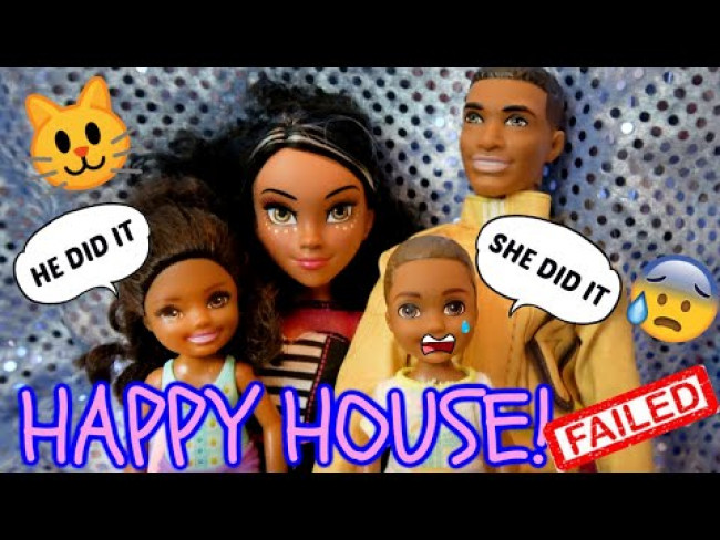 THE HAPPY HOUSE! (Episode 1) MEET the HAPPY FAMILY! The TOYTASTIC Sisters! FUNNY KIDS SKIT.