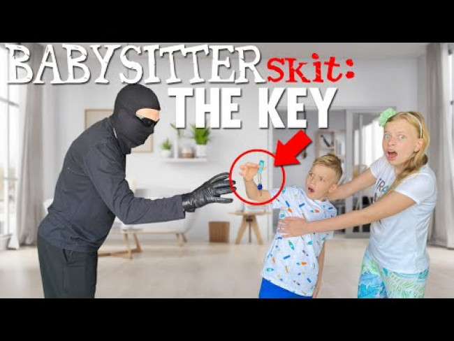 The Key! Cursed Babysitter Skit Ep. 10