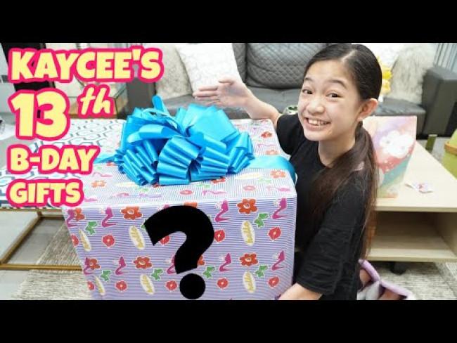 The Morning of Kaycee's 13th Birthday | Kaycee & Rachel in Wonderland Family