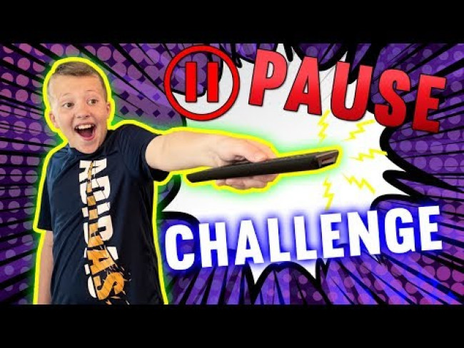 The Pause Challenge vs Everyone in My Family IN PUBLIC!!!
