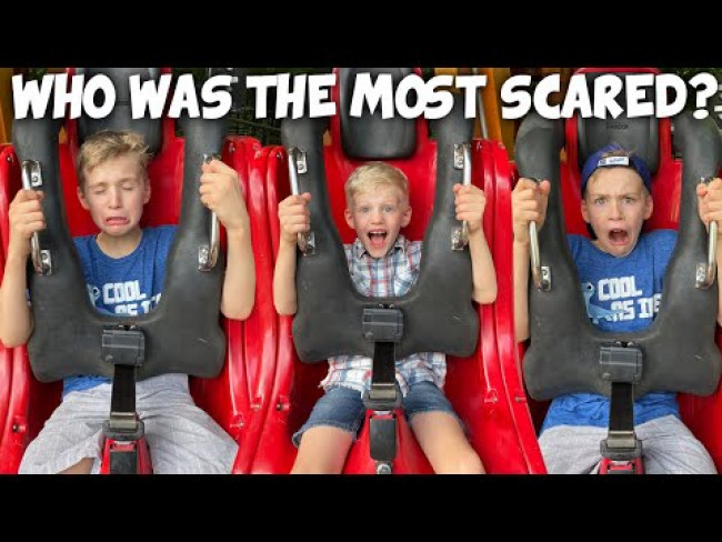 Took on the Scariest Ride at Busch Gardens, Virginia!