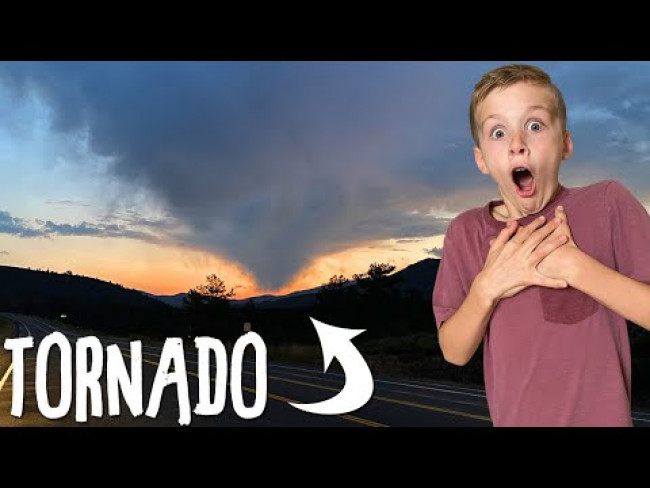 Tornado on our Road Trip!!