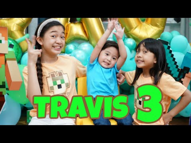 TRAVIS'S 3rd BIRTHDAY | Kaycee & Rachel in Wonderland Family