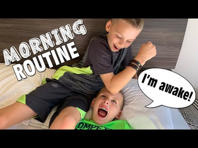 Twins Morning Routine Update