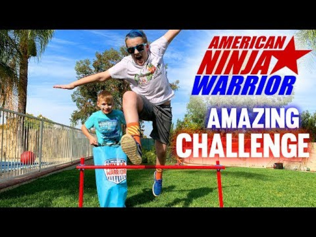 Ultimate Backyard Ninja Warrior Challenge