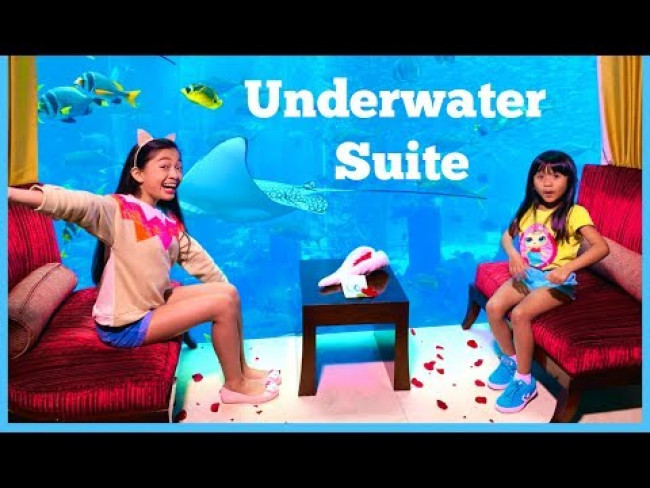 Underwater Hotel Room Tour