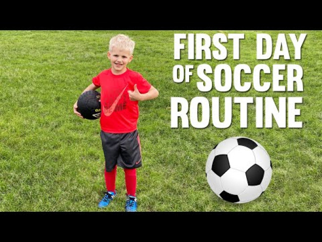 Very First Soccer Practice Routine