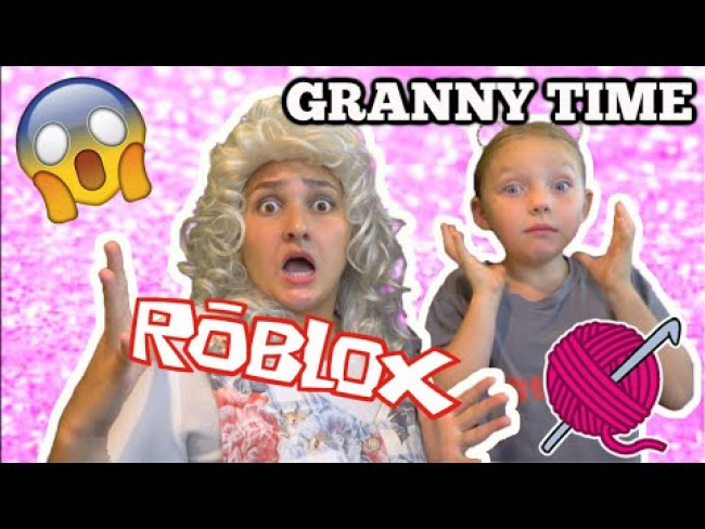 VISIT from GRANNY! KAIA and GRANNY play ROBLOX. FUNNY SKIT. The TOYTASTIC Sisters. FASHION FAMOUS.