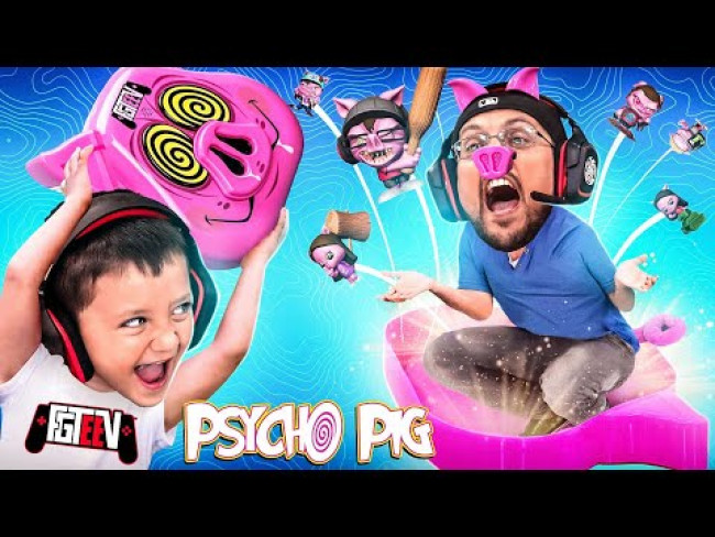 We Beat up a Psycho Pig! FGTeeV Family turned into PIGS! (Bratty Duddz Unboxing)