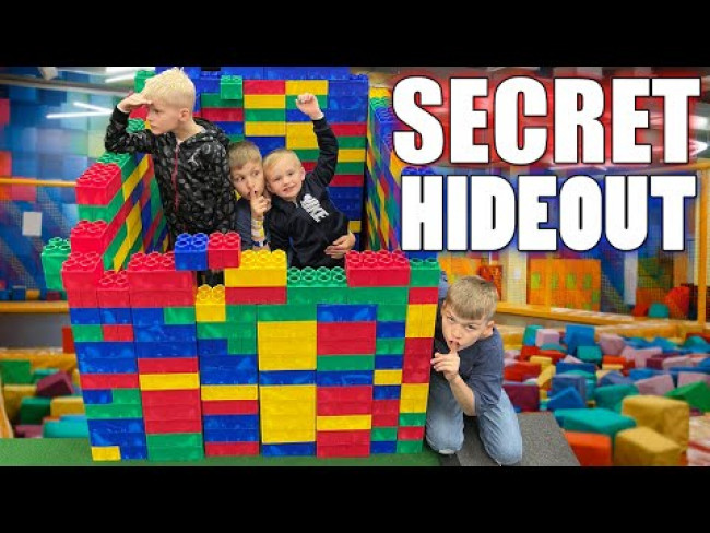 We Built a HUGE Lego Fort -- Will it Last??!