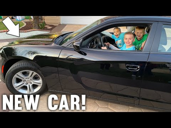 We Got a Fast New Car for Their Birthday!!
